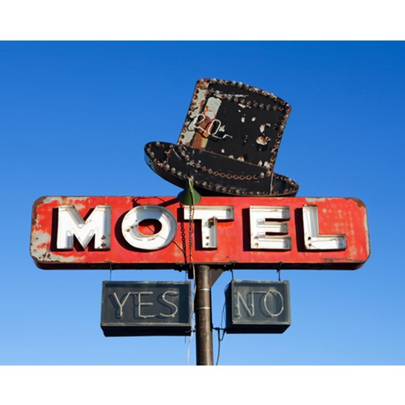 Placa de Motel - Yes / No - Quadros