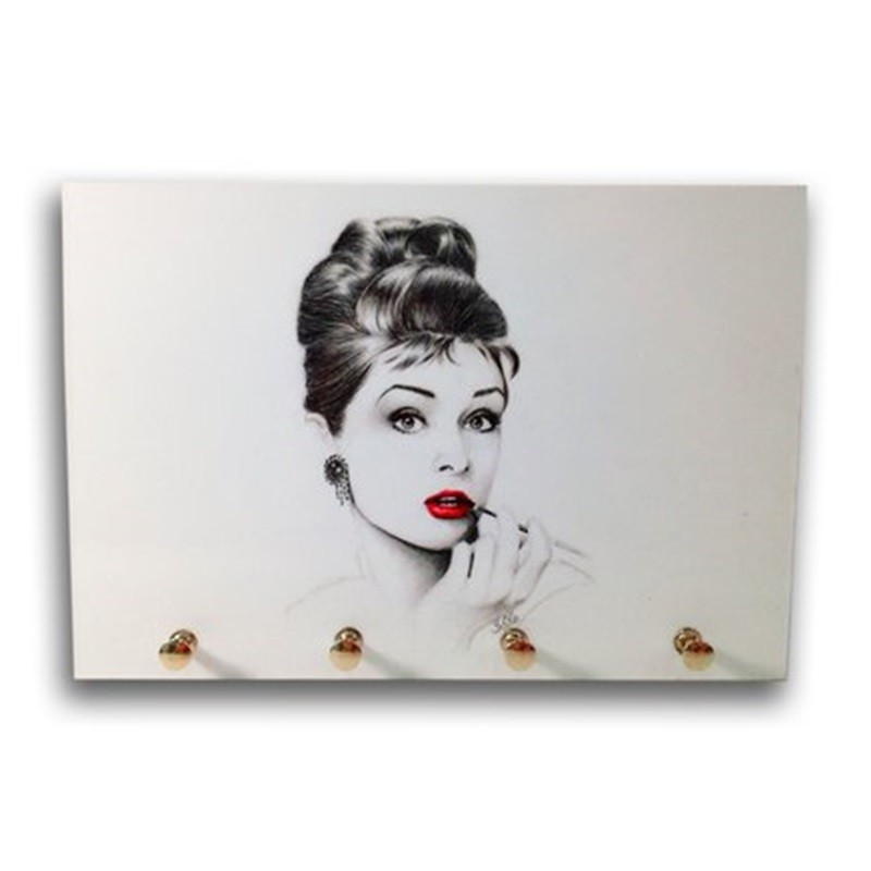 Audrey Hepburn -  Porta Chaves