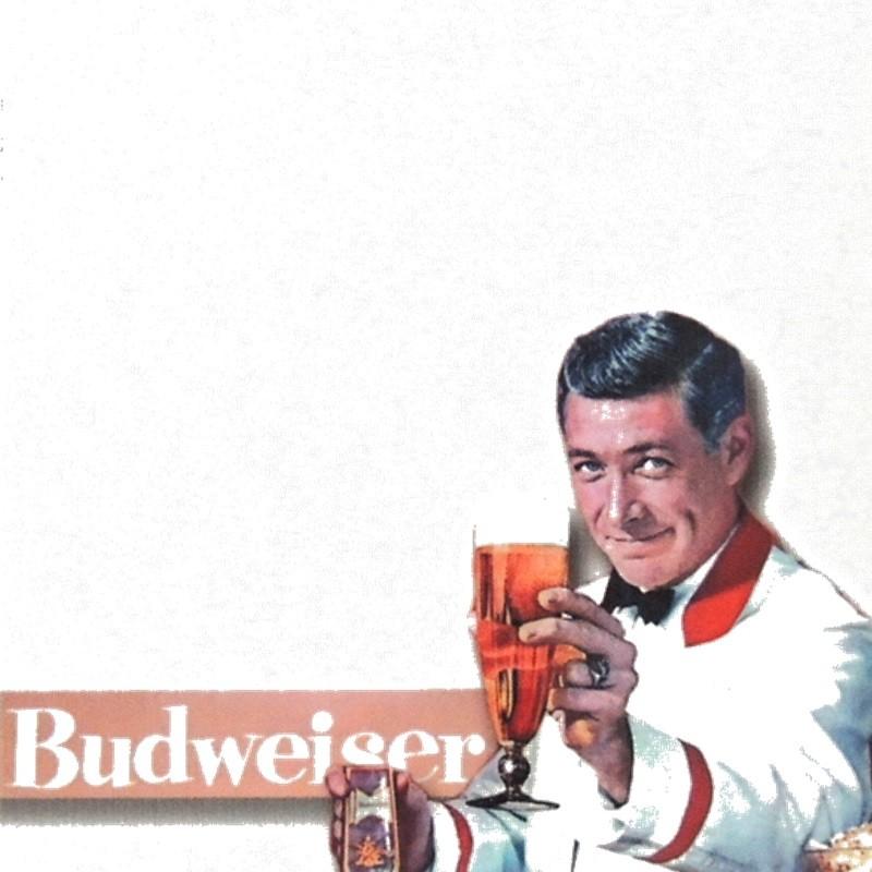 Budweiser - Porta Recados de Geladeira