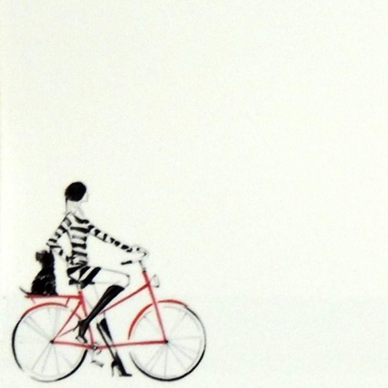 Bicicleta - Porta Recados de Geladeira