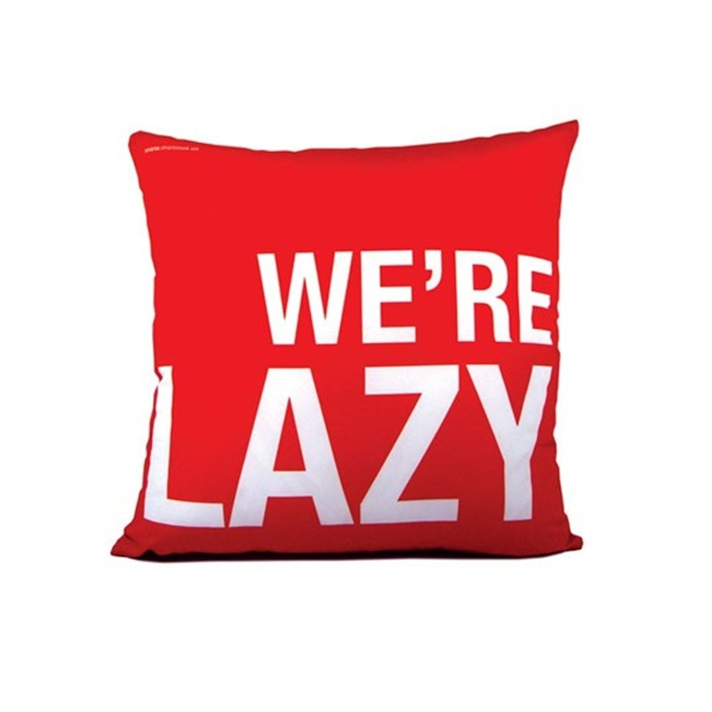We're Lazy! - Almofada