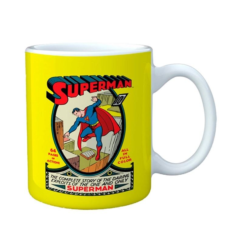 Superman Retrô - DC COMICS - Caneca