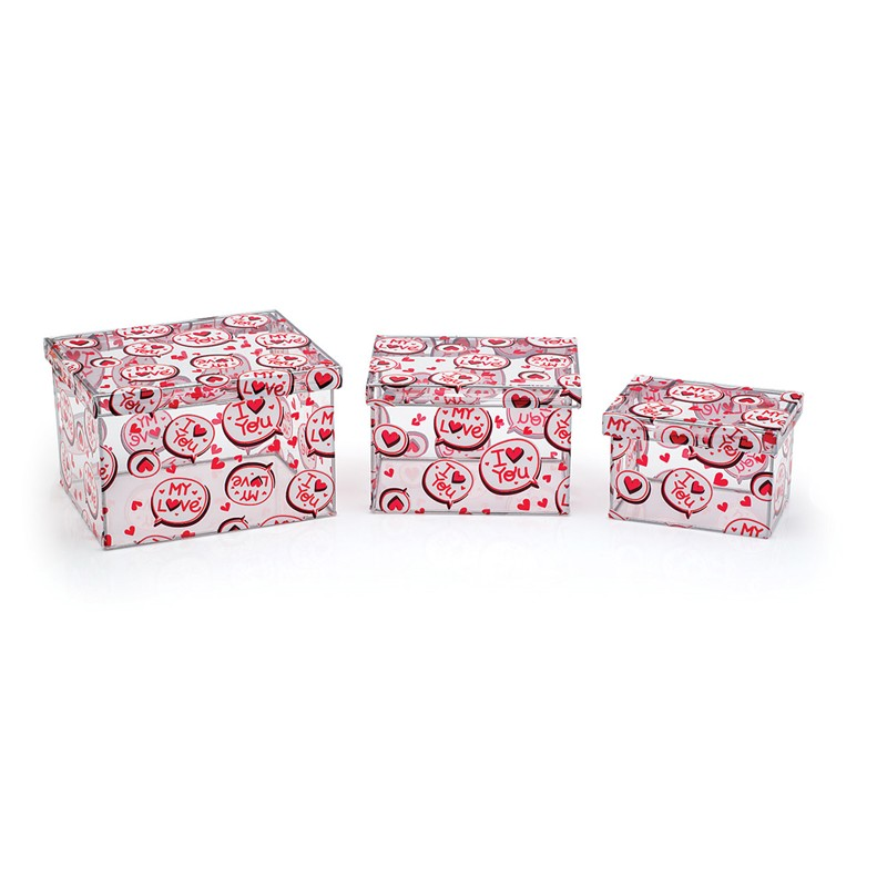 Meu Amor - Kit Caixas Organizadoras