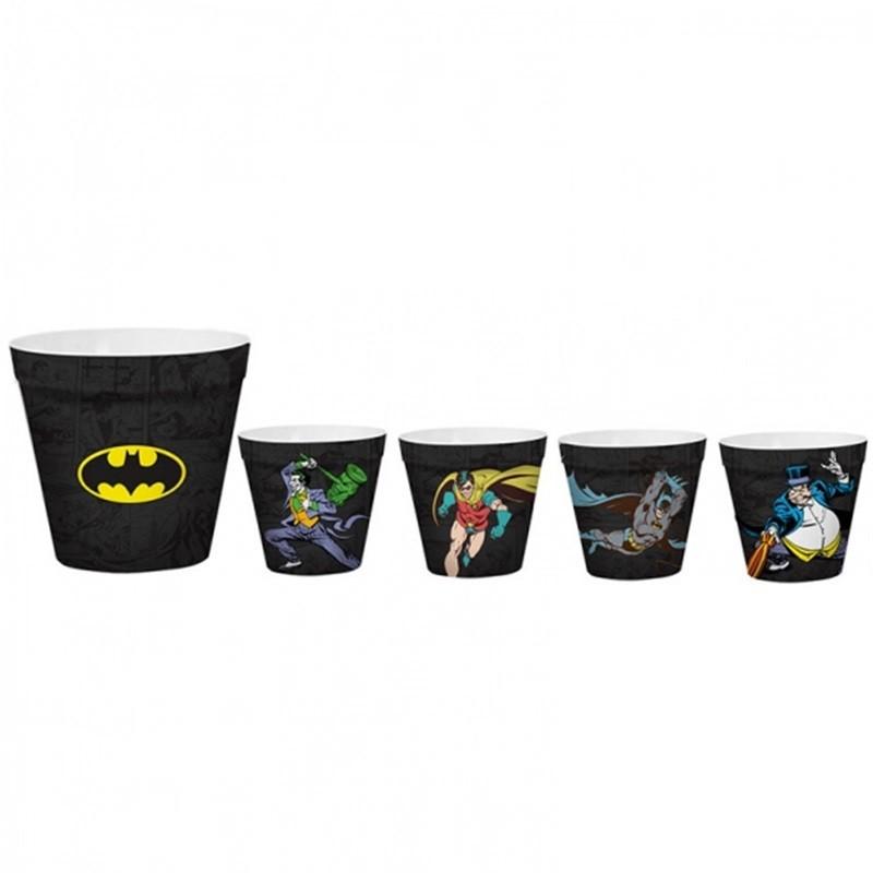Potes de pipoca - Batman