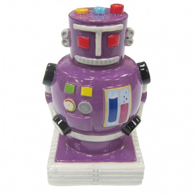 Robô Roxo - Cofre