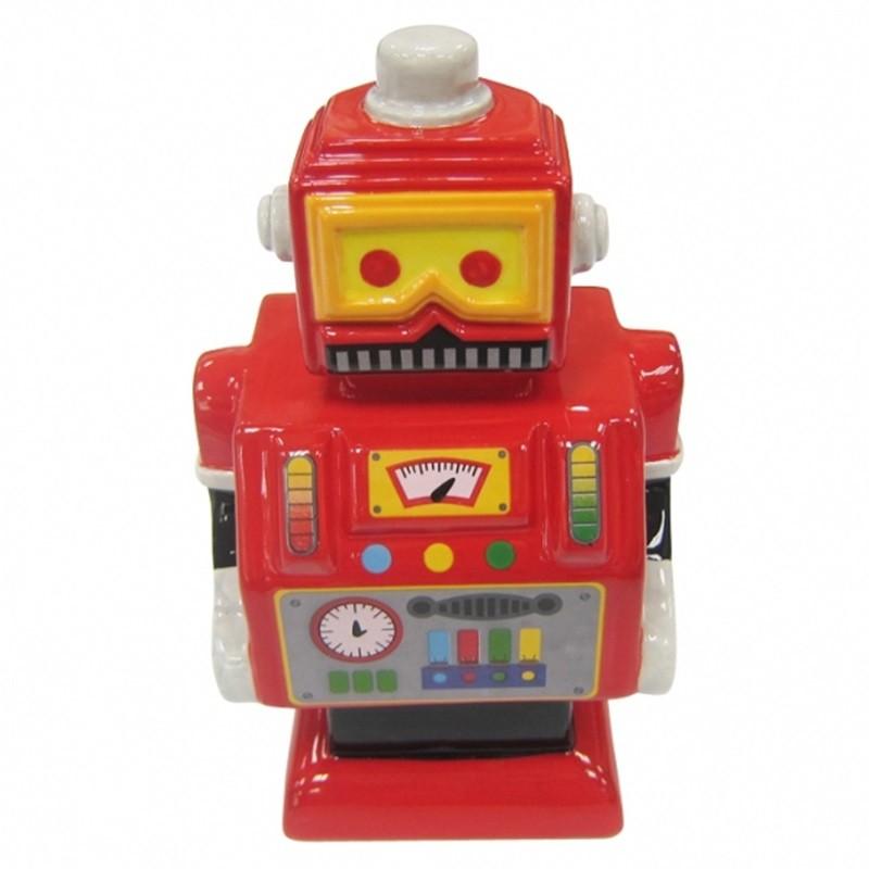 Robô Vermelho - Cofre