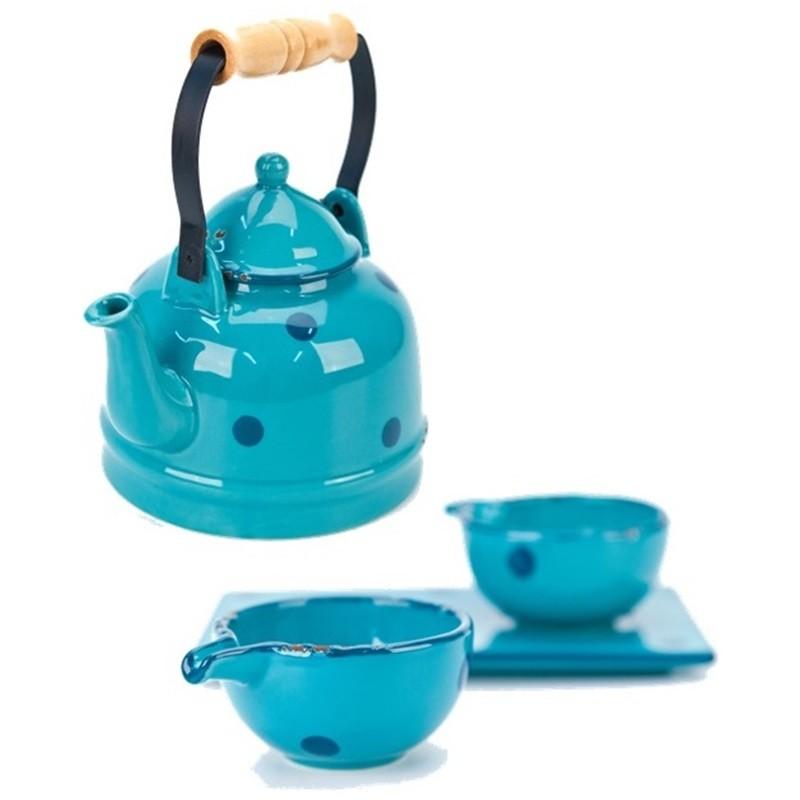 Conjunto de Chá - Turquesa