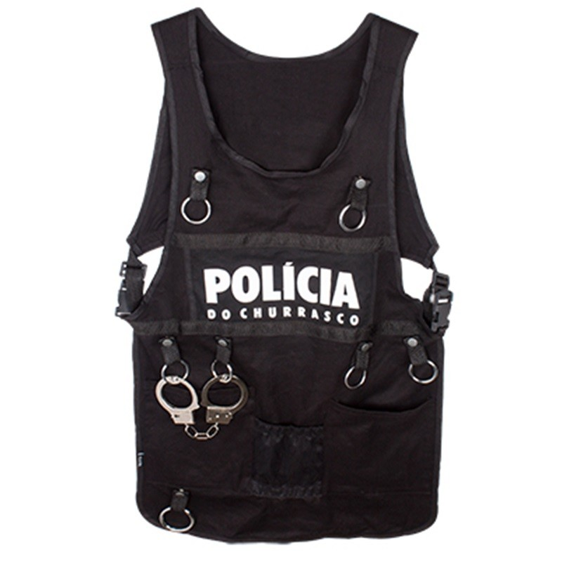 Avental - Policial