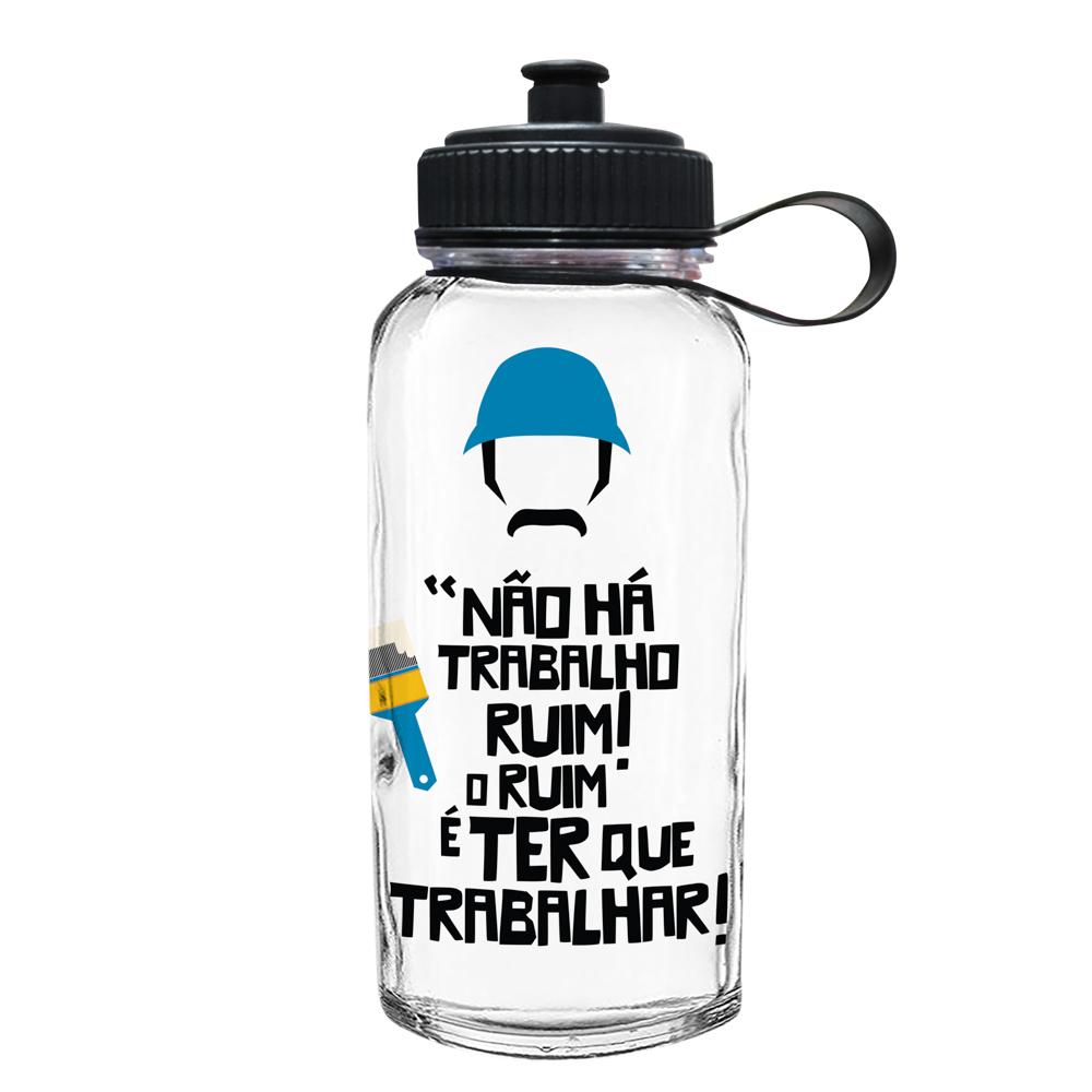 Sr. Madruga - Garrafa Squeeze 1 Litro Turma do Chaves