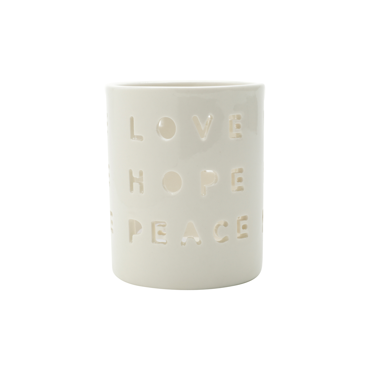 Love, Hope, Peace - Porta Velas / Lanterna
