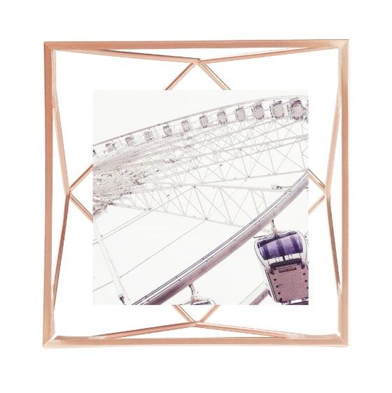 Prisma Pequeno - Porta Retrato Para Fotos 10x10cm