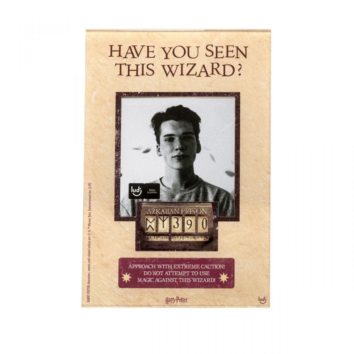 Wanted - Porta Retrato Harry Potter