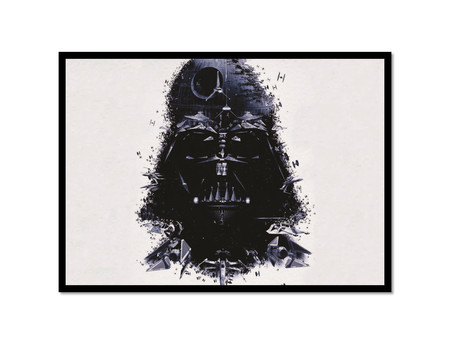 Darth Vader - Poster com Moldura