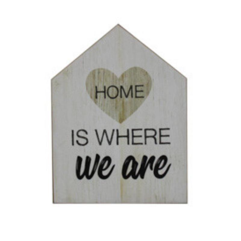 Home - Plaquinha Decorativa House Form