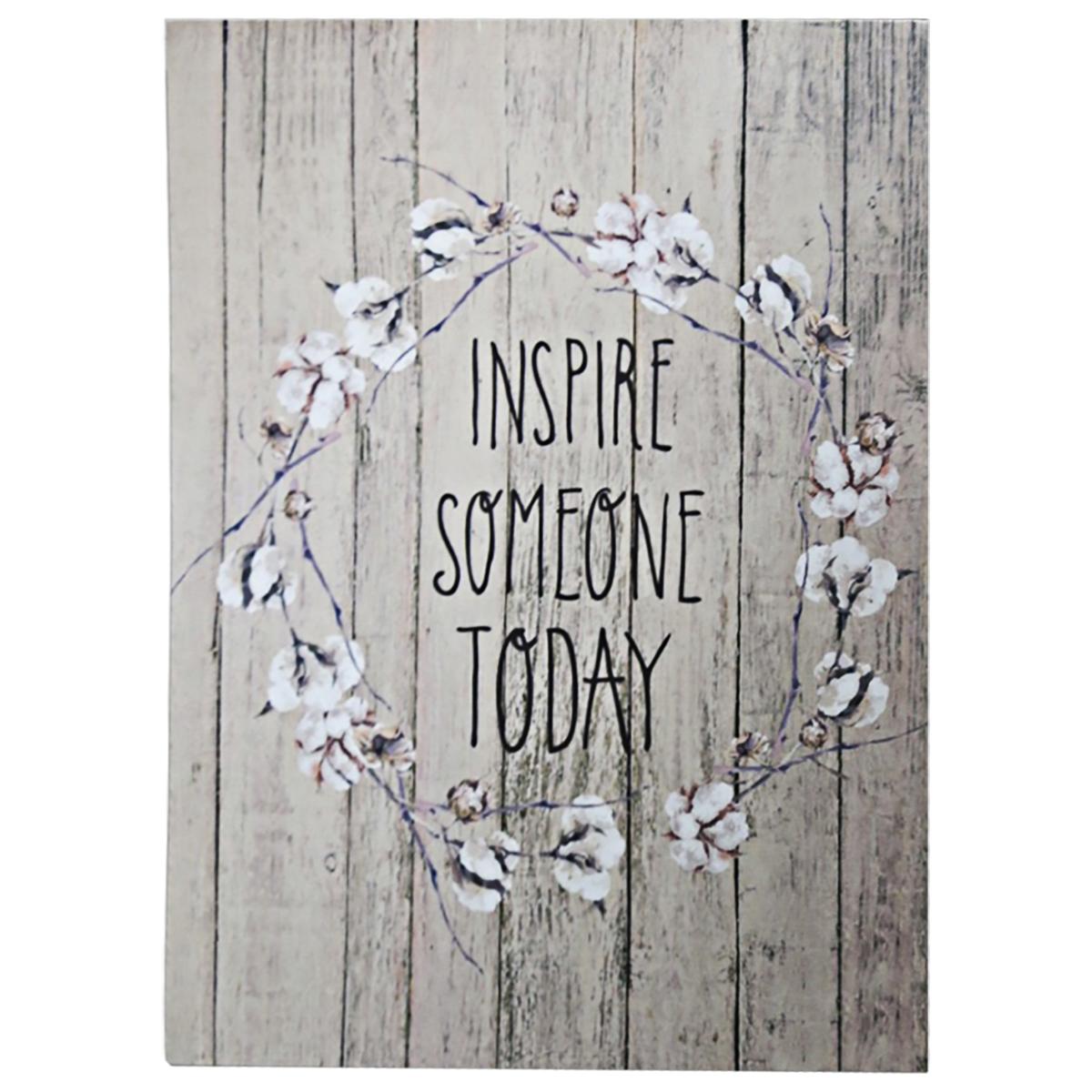 Inspire Someone - Tela Decorativa