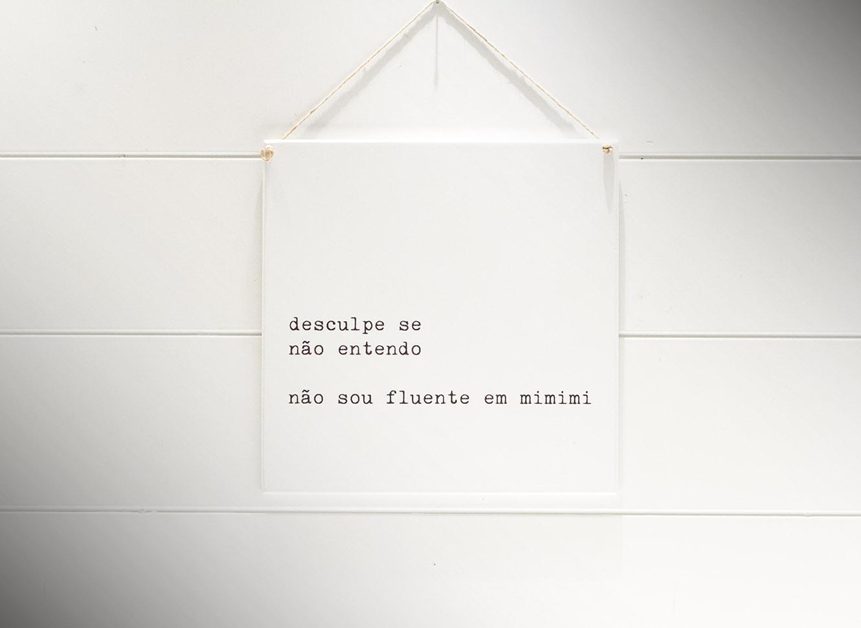 Mimimi - Quadrinho