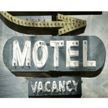 Placa de Motel - Vacancy - Quadros