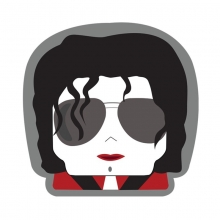 Recorte - Michael Jackson - Almofada