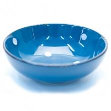 Bolinhas - Tigela Azul