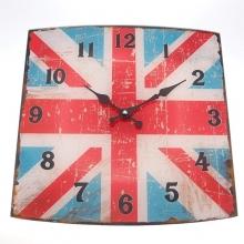 Bandeira em Vidro - Relógios Retrô