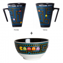 Pac Coffee e Pac Cereal - Kit Caneca + Bowl