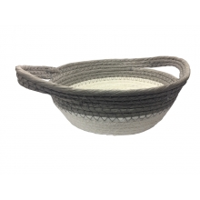 Braid - Cesta Decorativa de Fibra Grande