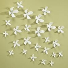 Wallflower  - Conjunto Decorativo para Parede (Conjunto com 10 peças)
