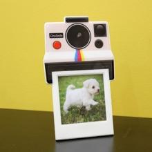 Instant Câmera- Porta Retrato