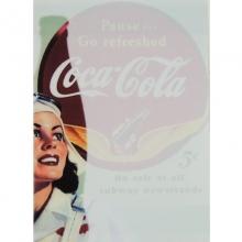 Porta Recados de Geladeira - Coca Cola