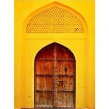 Porta Indiana - Amarela- Quadros Grandes