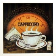 Cappuccino - Quadrinho com Vidro
