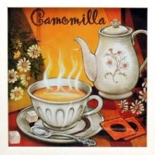 Camomilla - Quadrinho com Vidro