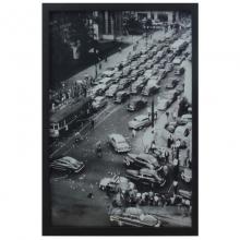 Trânsito- Quadro Retrô com Vidro