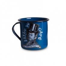 Barão do Café - Tamanho M - Caneca de Metal