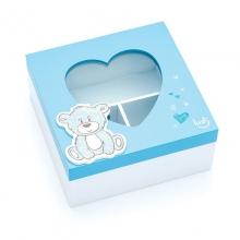 Urso Baby Azul - Caixa Organizadora