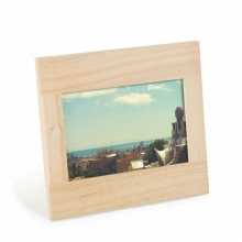 Simple - Pequeno - Porta Retrato em Madeira