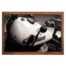 Moto Antiga - Quadros Retrô