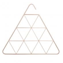 Pendant Triangle - Cabide Organizador de Lenços e Cachecóis Triângulo Cobre