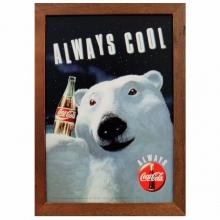 Coca-Cola - Urso Polar - Quadros Retrô