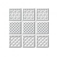 Geometra - Conjunto com 9 Painéis em Metal