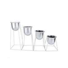Geométrico - Kit com 4 Vasos Geoforms
