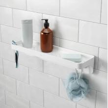 Flex - Prateleira Reta Para Banheiro Com Ventosa