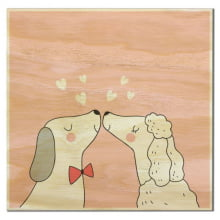 Amor Canino - Imã de Geladeira
