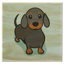 Cachorro - Imã de Geladeira