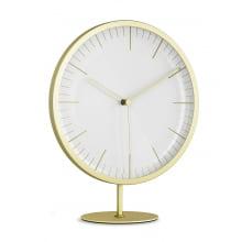 Infinity - Relógio Minimalista Dourado (Parede Ou Bancada)