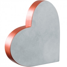 Coração - Cobre E Cimento