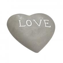 Coração Love - Decor 3D em Cimento - Tamanho M
