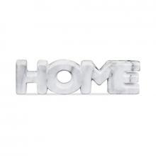 Home Mármore - Palavra Decorativa em Cerâmica