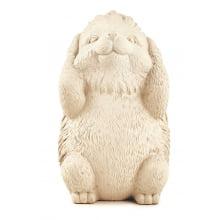 Porcos Espinhos Sábios - Trio de Estátuas Decorativas