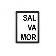 Salvador - Quadro Divertido de Metal